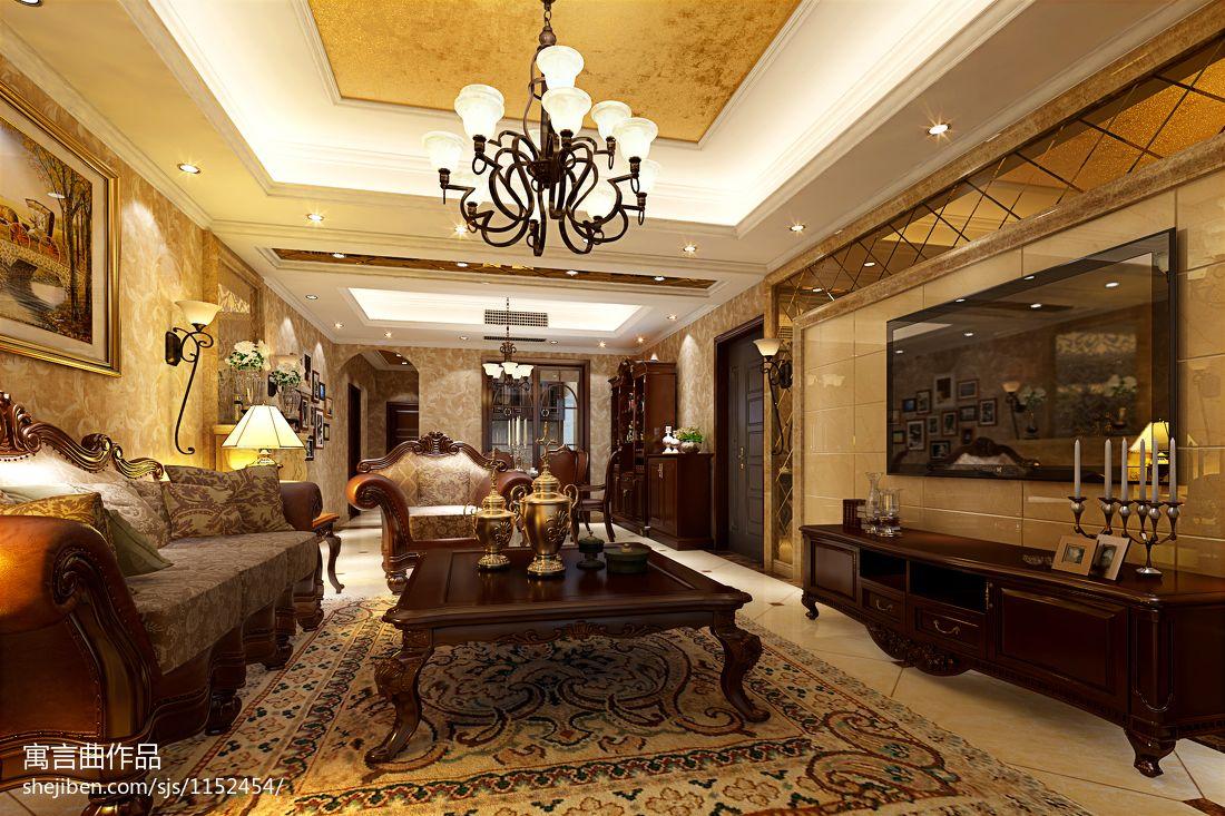 简洁102平混搭四居客厅装修美图客厅潮流混搭客厅设计图片赏析