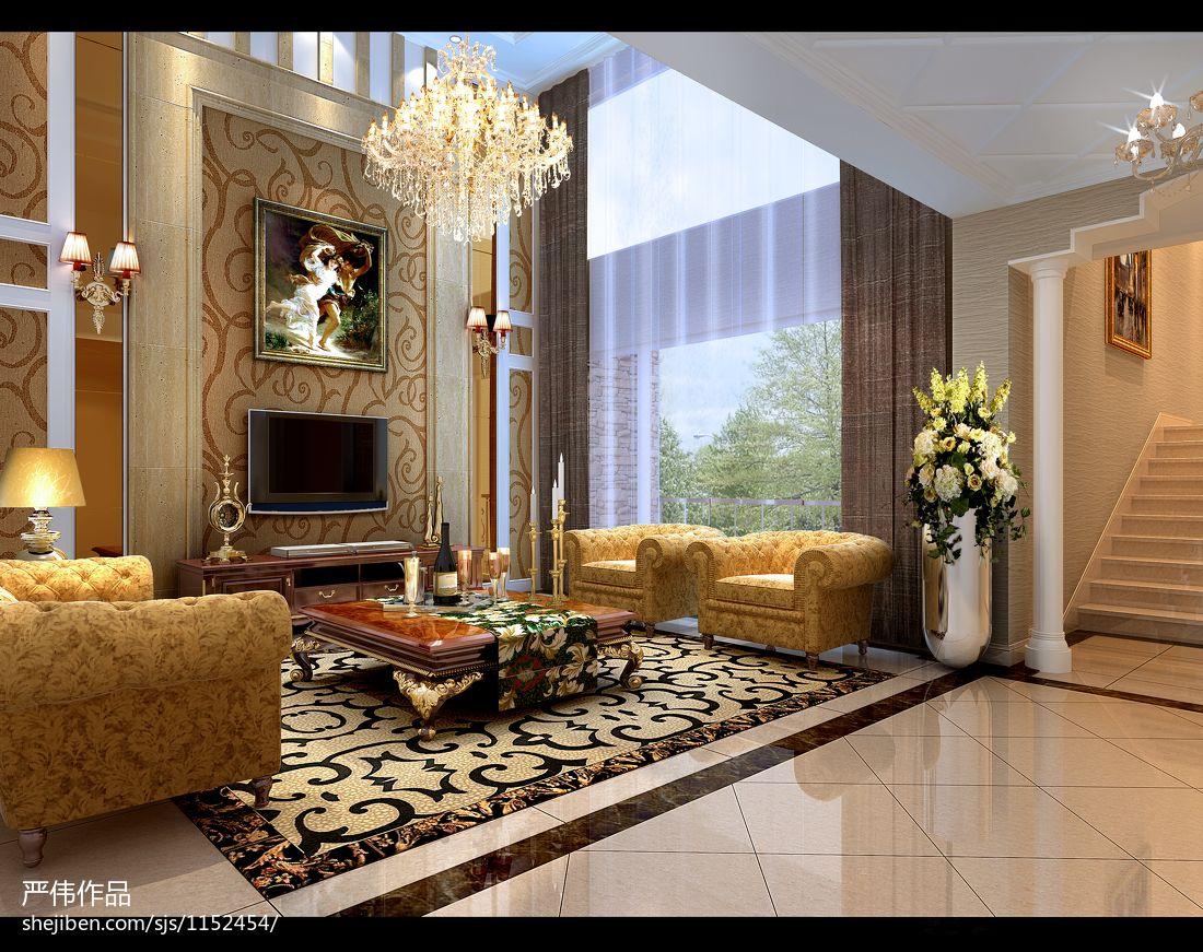 温馨341平混搭样板间客厅设计图客厅潮流混搭客厅设计图片赏析