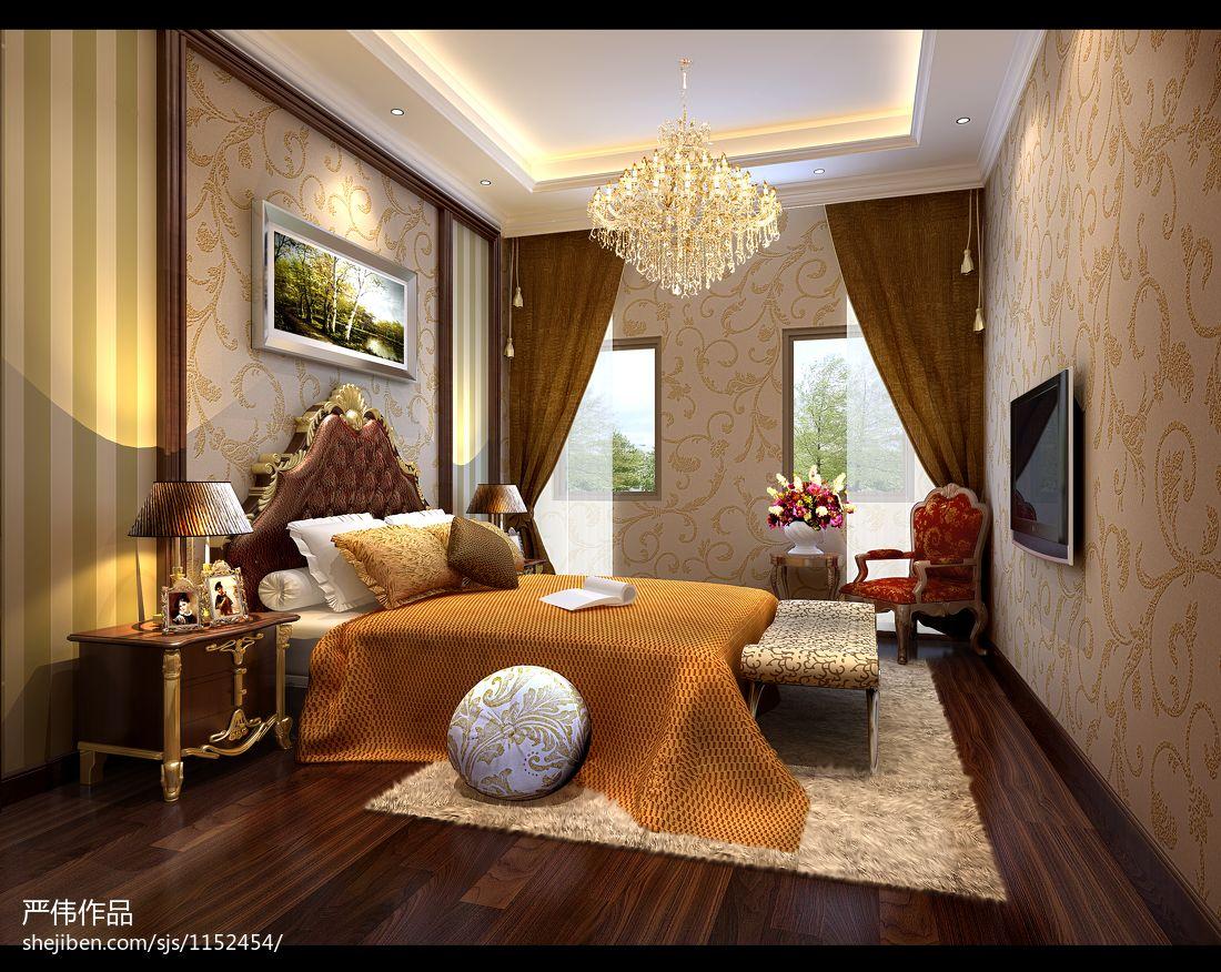 优美323平混搭样板间卧室装修美图卧室潮流混搭卧室设计图片赏析