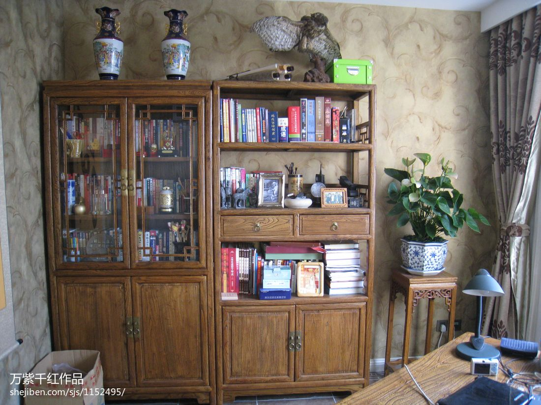 精美432平混搭别墅书房效果图片大全功能区潮流混搭功能区设计图片赏析