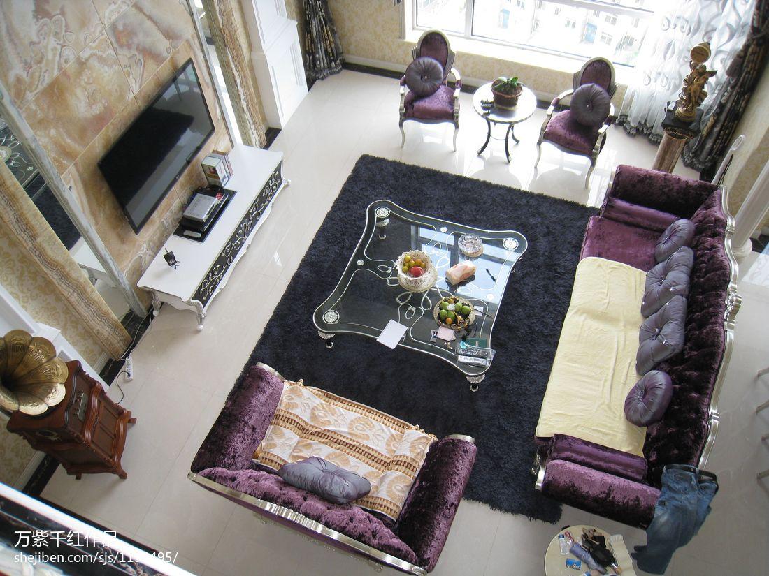 华丽571平混搭别墅客厅布置图客厅潮流混搭客厅设计图片赏析
