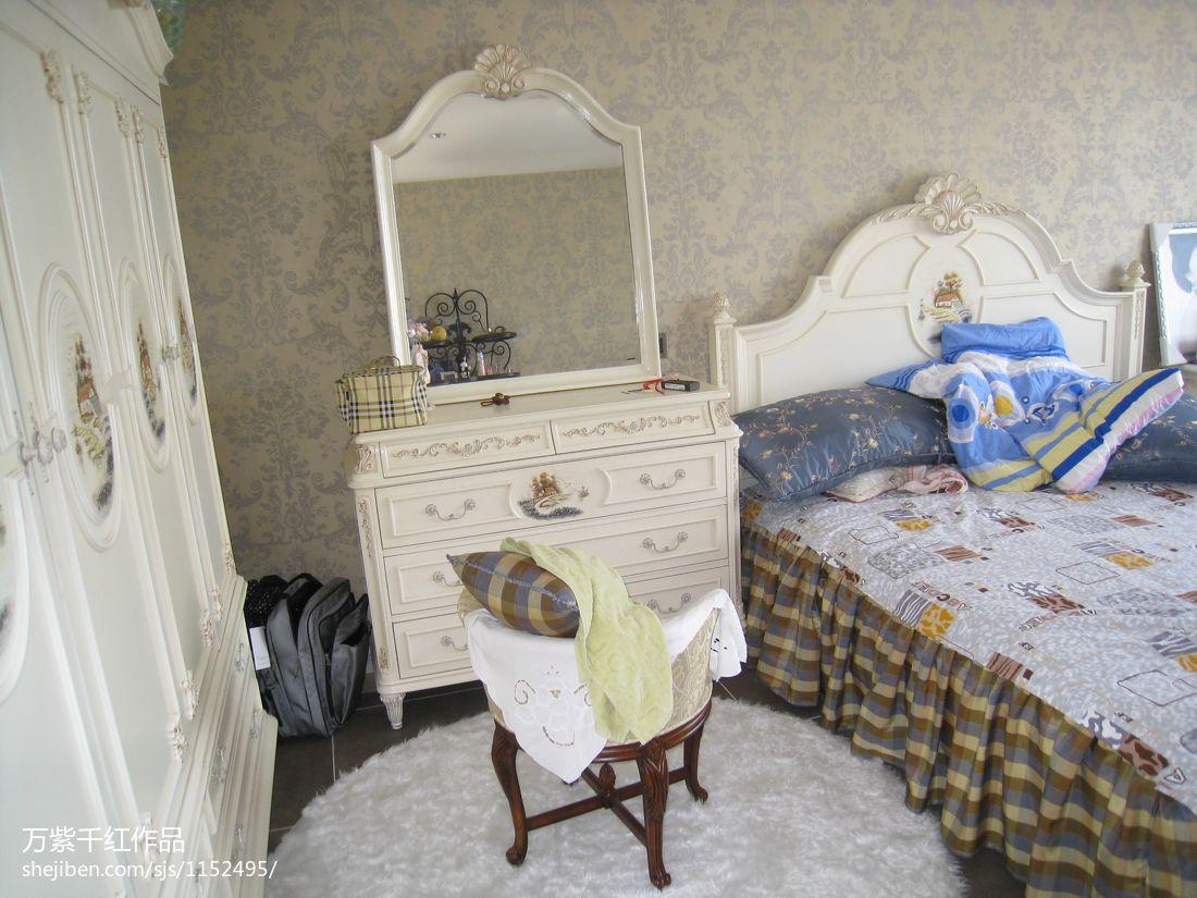 典雅769平混搭别墅儿童房布置图卧室潮流混搭卧室设计图片赏析