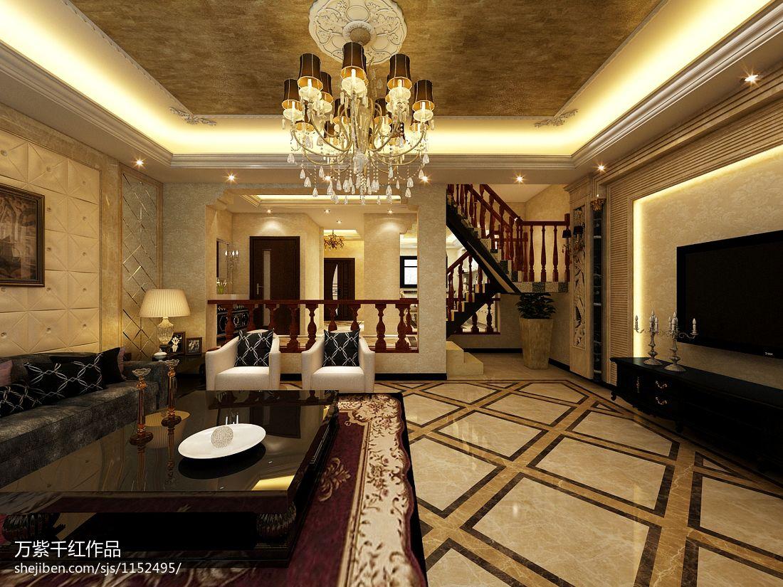 精美113平米混搭别墅客厅实景图客厅潮流混搭客厅设计图片赏析