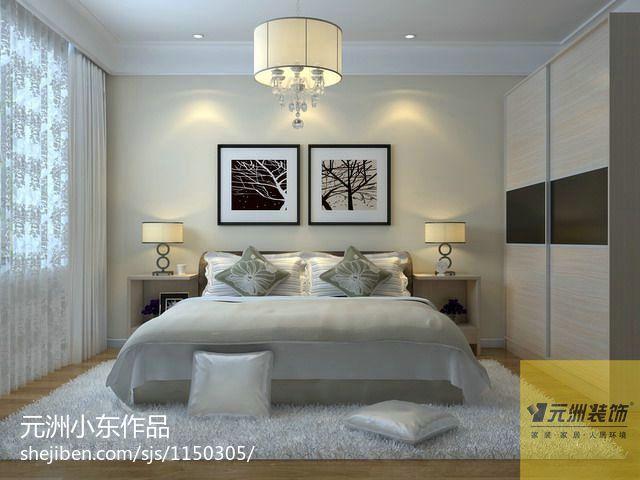 优美111平混搭四居卧室案例图卧室潮流混搭卧室设计图片赏析