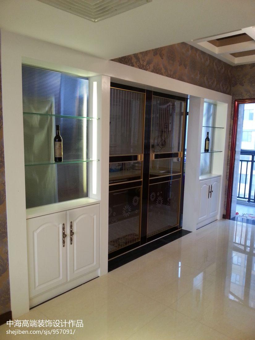 精选面积115平混搭四居厨房装修欣赏图片大全餐厅潮流混搭厨房设计图片赏析