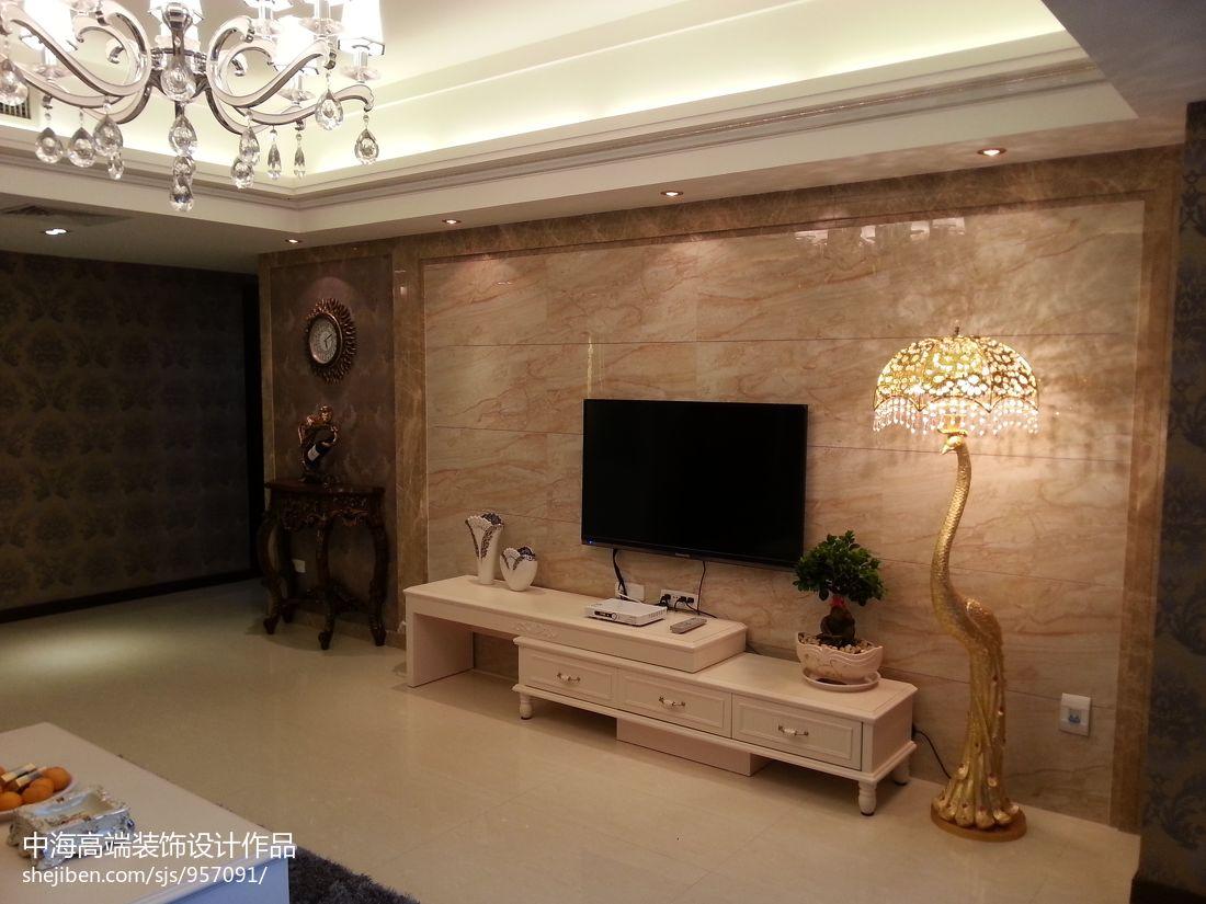 精美面积142平混搭四居客厅装修设计效果图片欣赏客厅潮流混搭客厅设计图片赏析