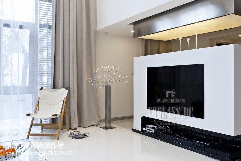 2018精选110平米混搭别墅客厅效果图片欣赏客厅潮流混搭客厅设计图片赏析