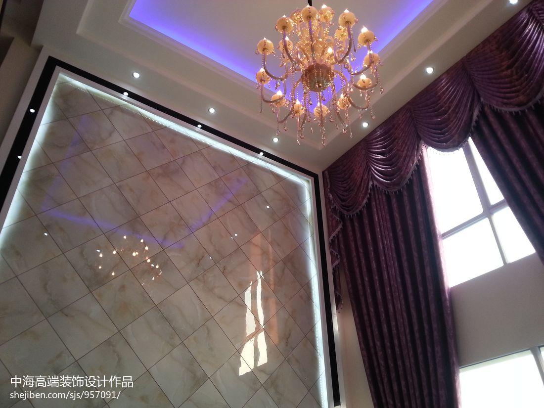 大气281平混搭样板间客厅装修设计图客厅潮流混搭客厅设计图片赏析
