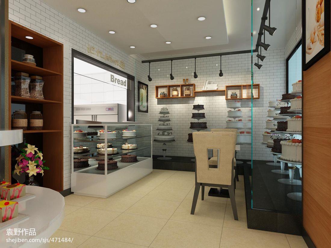 面包店展示柜图片餐饮空间设计图片赏析