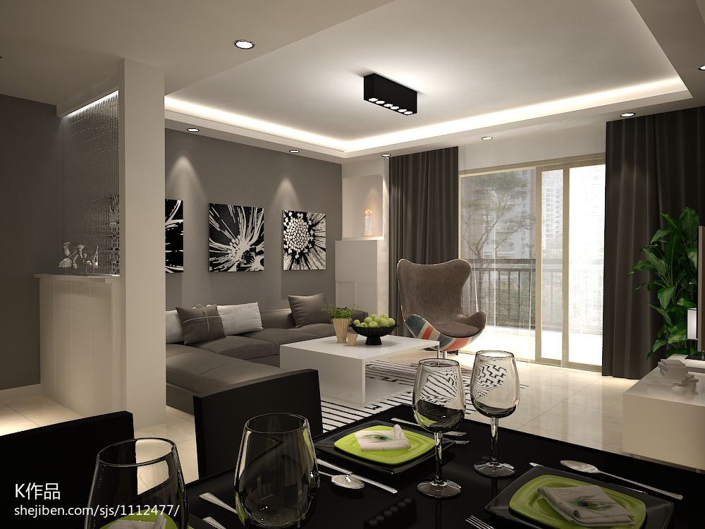 精选91.5平米3室客厅混搭装修实景图片大全客厅潮流混搭客厅设计图片赏析