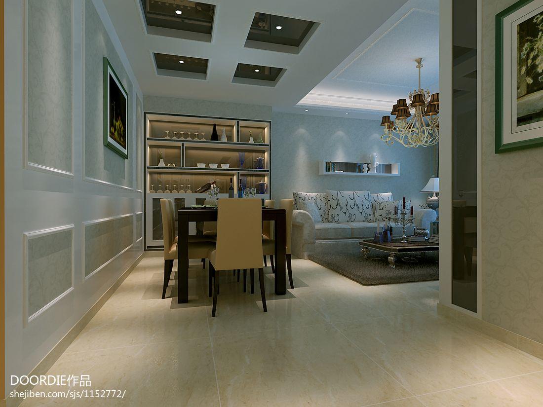 合肥小区2客厅潮流混搭客厅设计图片赏析