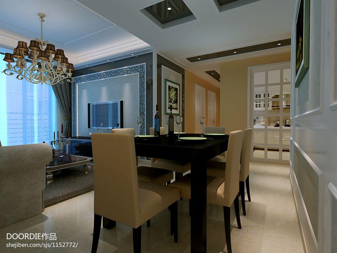 优美86平混搭二居客厅装饰美图客厅潮流混搭客厅设计图片赏析