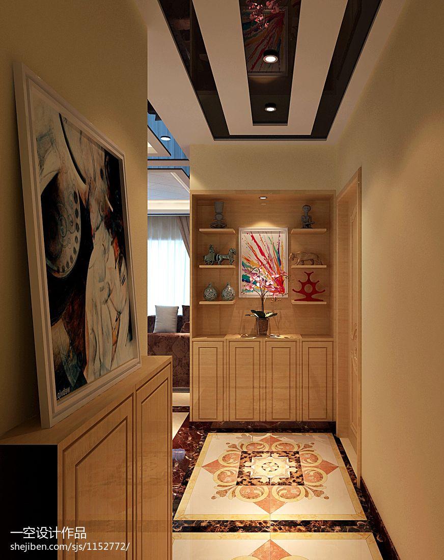 华丽83平混搭三居客厅实拍图客厅潮流混搭客厅设计图片赏析