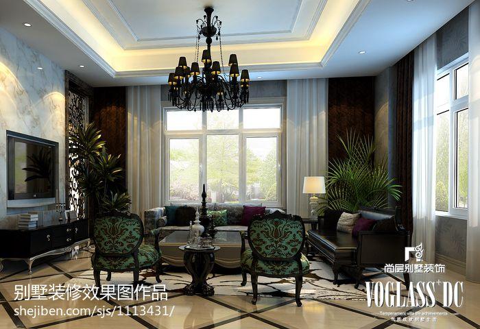 2018大小143平别墅客厅混搭装饰图片大全客厅潮流混搭客厅设计图片赏析