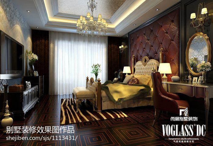 热门121平米混搭别墅卧室设计效果图卧室潮流混搭卧室设计图片赏析