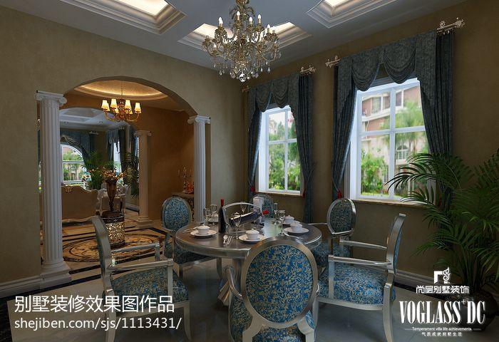 精选面积126平别墅餐厅混搭装修设计效果图片欣赏厨房潮流混搭餐厅设计图片赏析