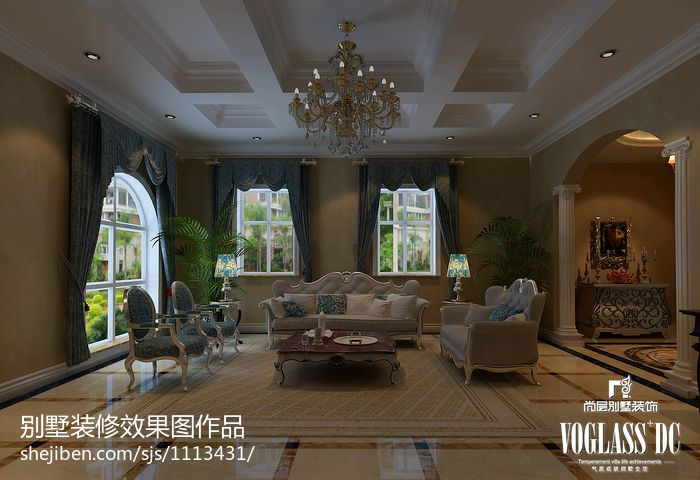 热门面积118平别墅客厅混搭装修效果图片欣赏客厅潮流混搭客厅设计图片赏析