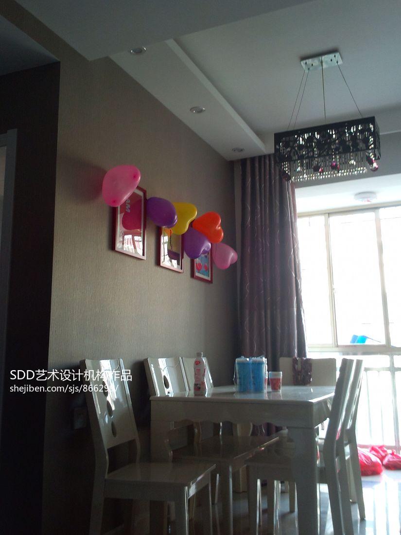 热门大小109平混搭三居餐厅装修图片欣赏厨房潮流混搭餐厅设计图片赏析