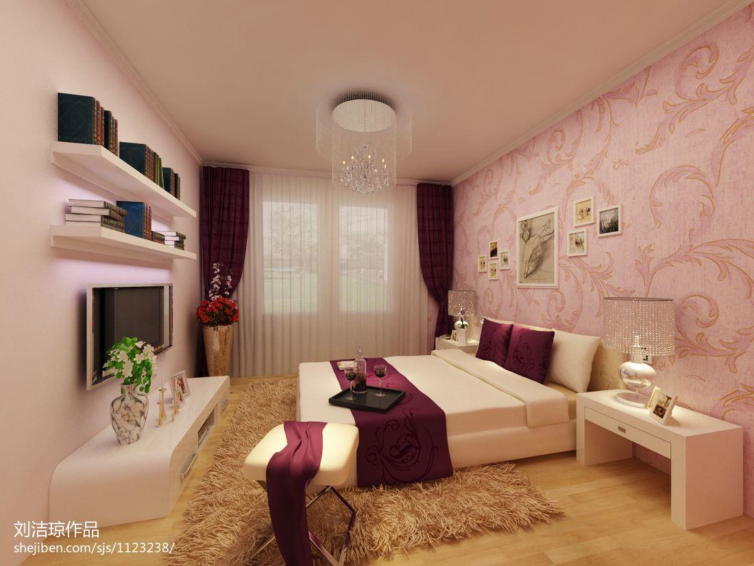 质朴64平混搭二居卧室装修装饰图卧室潮流混搭卧室设计图片赏析
