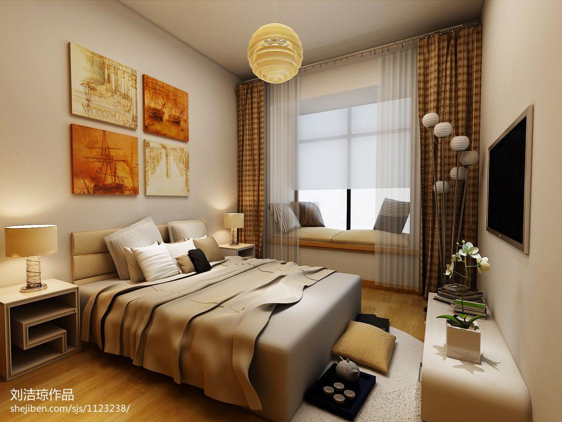 精选74平米二居卧室混搭装修图片欣赏卧室潮流混搭卧室设计图片赏析
