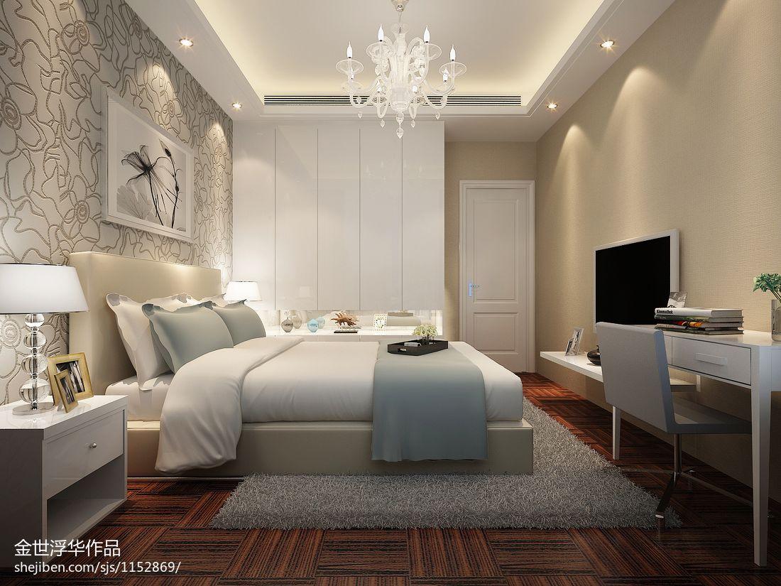 华丽99平混搭三居卧室装修装饰图卧室潮流混搭卧室设计图片赏析
