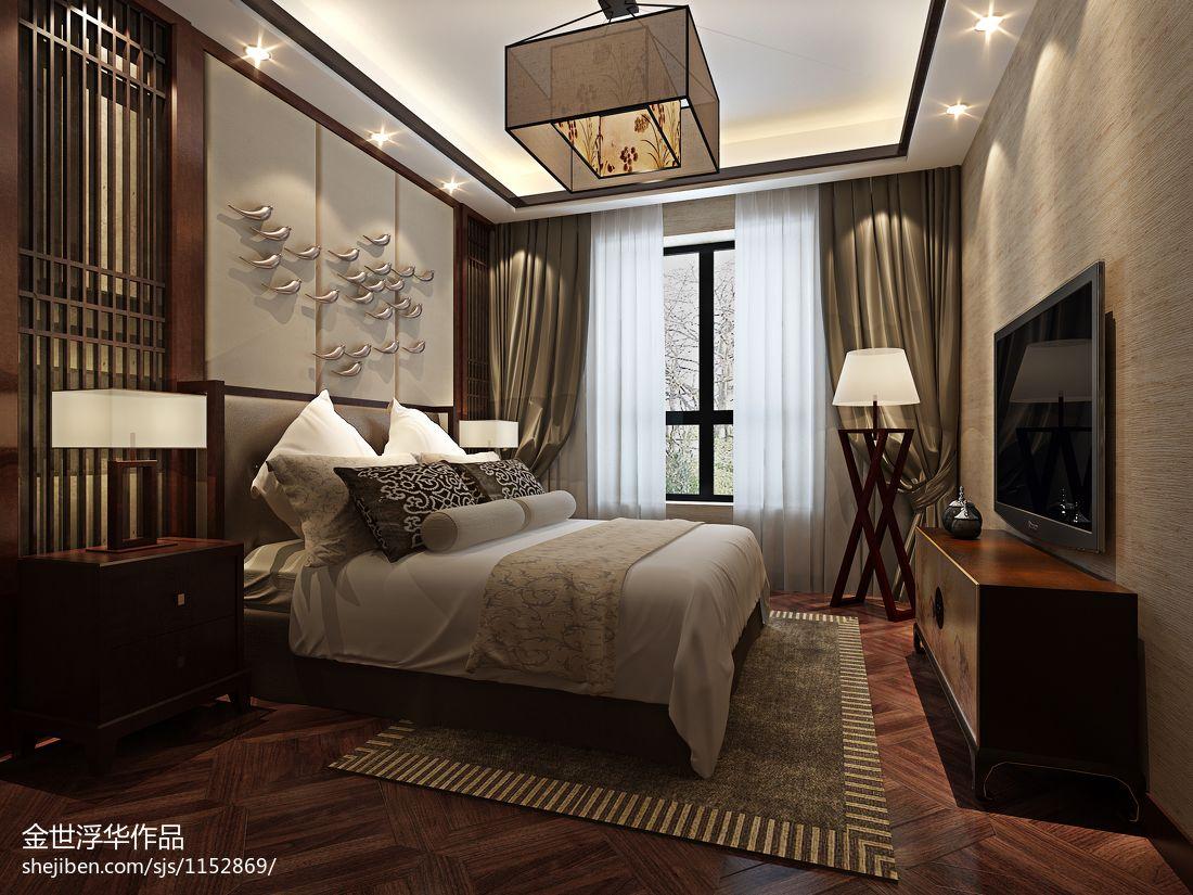 精选130平米混搭别墅卧室装修设计效果图片欣赏卧室潮流混搭卧室设计图片赏析