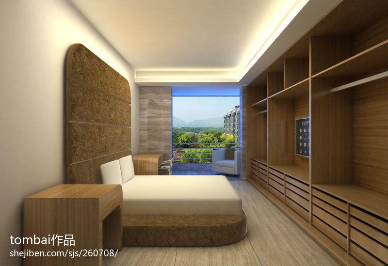 精美面积74平混搭二居卧室装修设计效果图片卧室潮流混搭卧室设计图片赏析