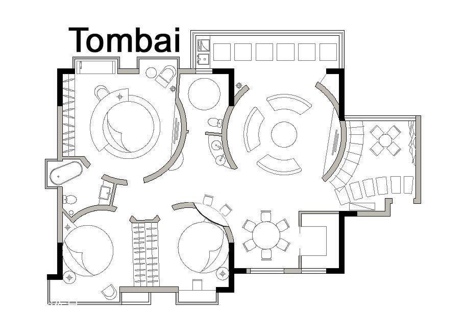 180平米住宅改造客厅潮流混搭客厅设计图片赏析