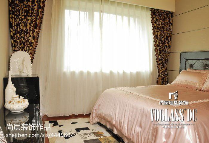 大气124平混搭四居卧室装修效果图卧室潮流混搭卧室设计图片赏析