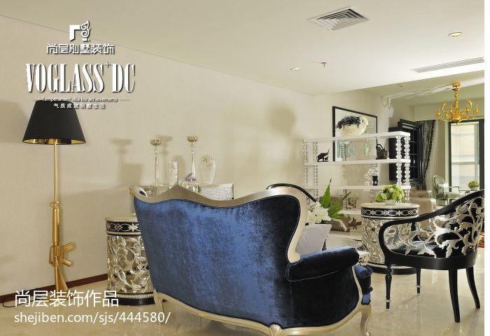 优雅102平混搭四居客厅实景图片客厅潮流混搭客厅设计图片赏析