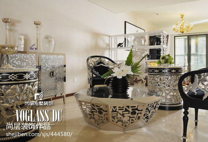 悠雅156平混搭四居客厅装饰美图客厅潮流混搭客厅设计图片赏析