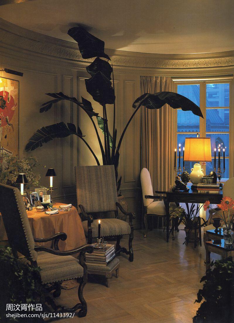 明亮990平混搭别墅客厅装饰美图客厅潮流混搭客厅设计图片赏析