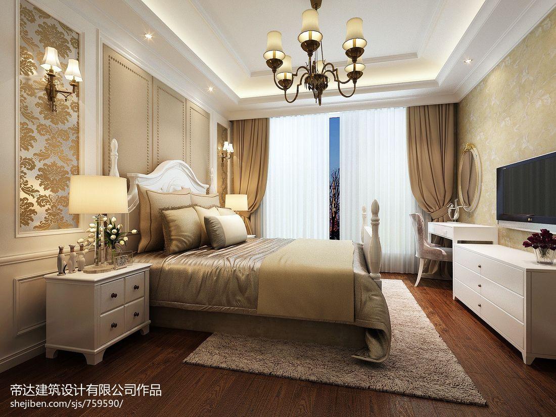 2018精选115平米混搭复式卧室装修实景图片大全卧室潮流混搭卧室设计图片赏析