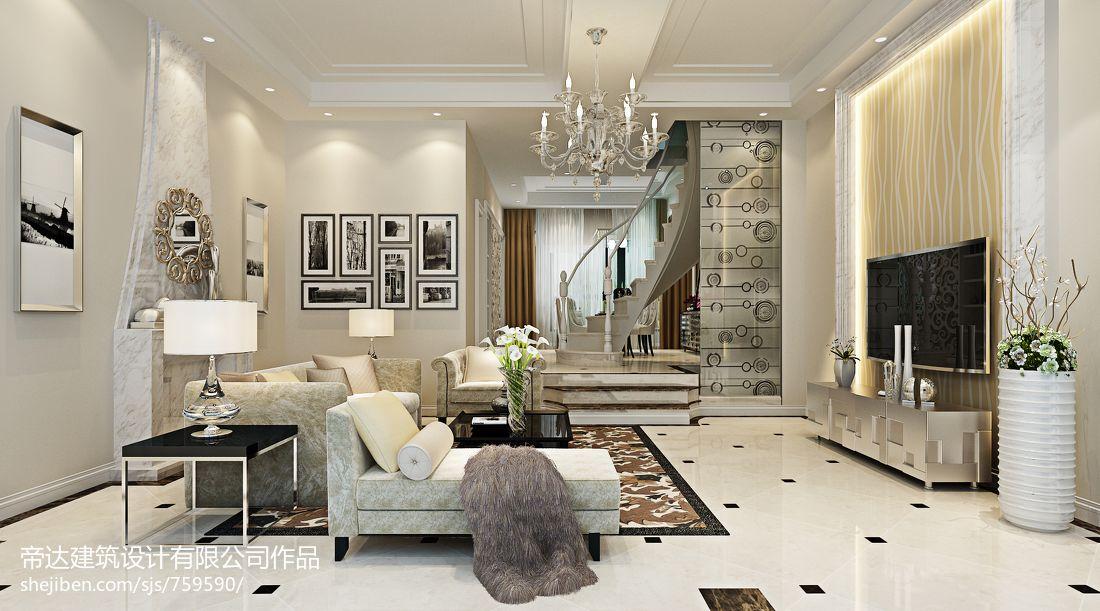 精美大小144平别墅客厅混搭设计效果图潮流混搭设计图片赏析