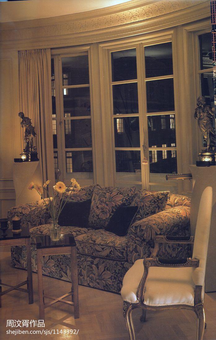 温馨670平混搭别墅客厅装饰图片客厅潮流混搭客厅设计图片赏析