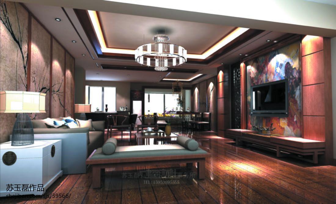 精美128平方四居客厅混搭欣赏图片大全客厅潮流混搭客厅设计图片赏析