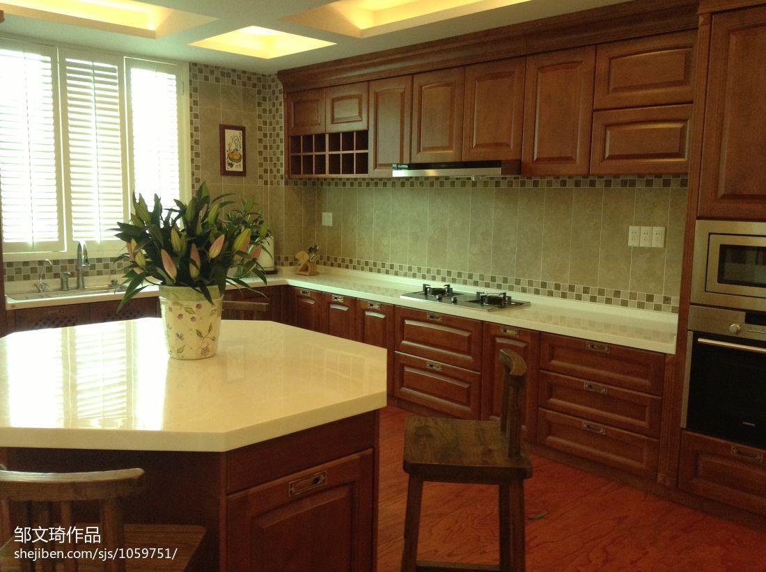 精美面积111平复式厨房混搭装修图餐厅潮流混搭厨房设计图片赏析