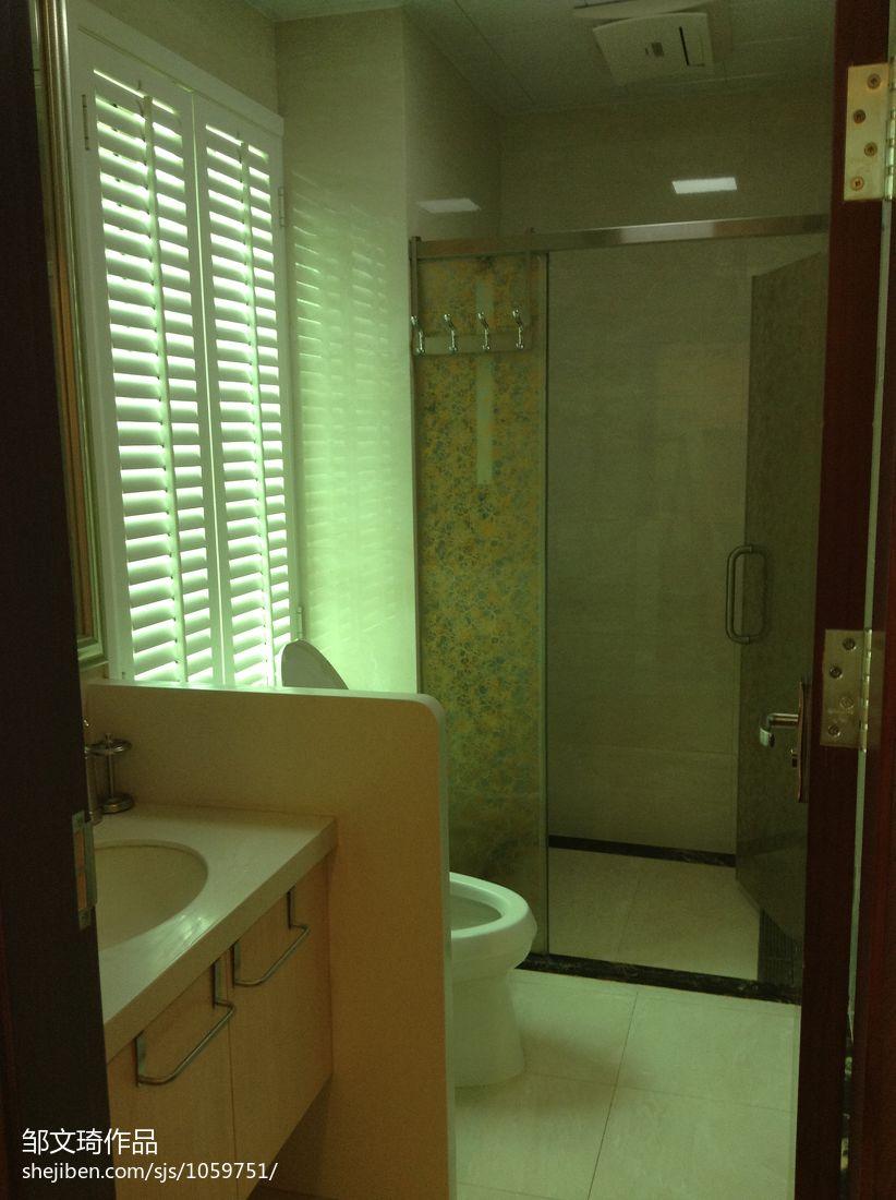 精选混搭复式卫生间效果图卫生间潮流混搭卫生间设计图片赏析