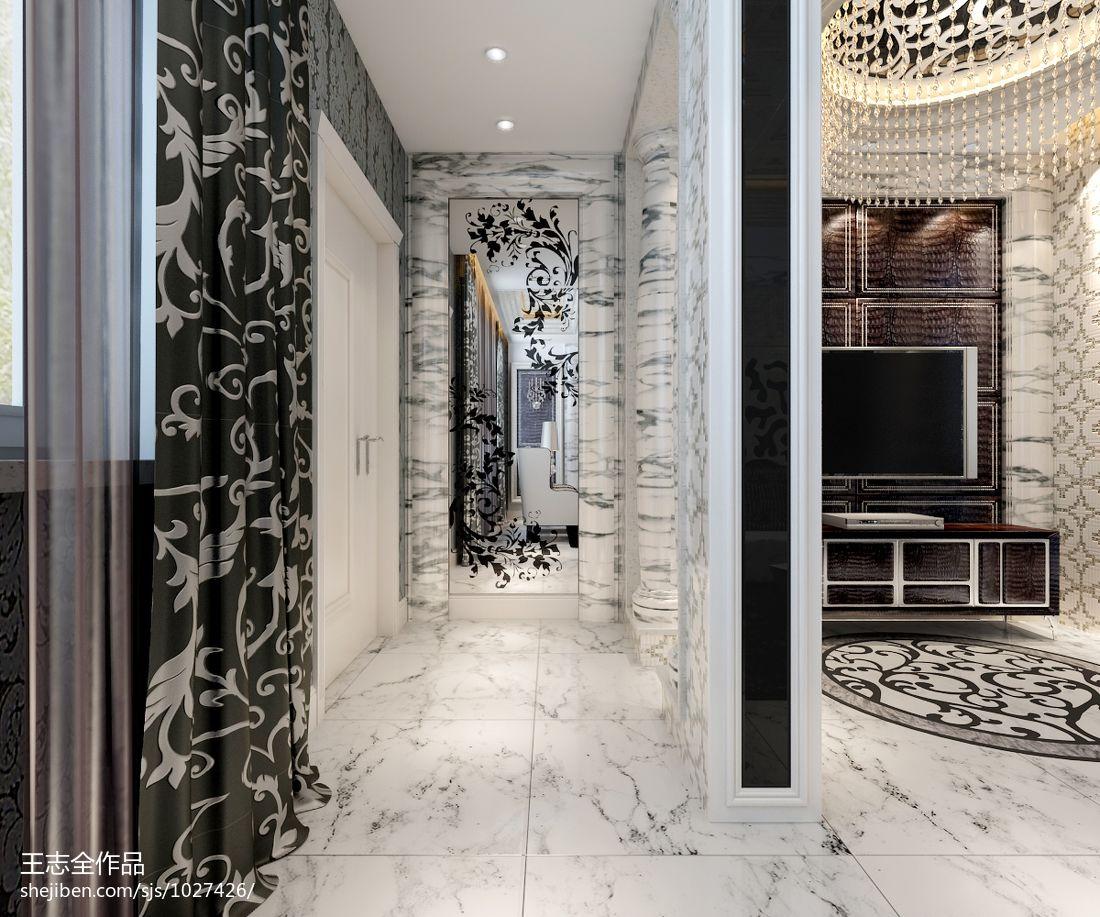 优雅208平混搭别墅客厅图片欣赏客厅潮流混搭客厅设计图片赏析