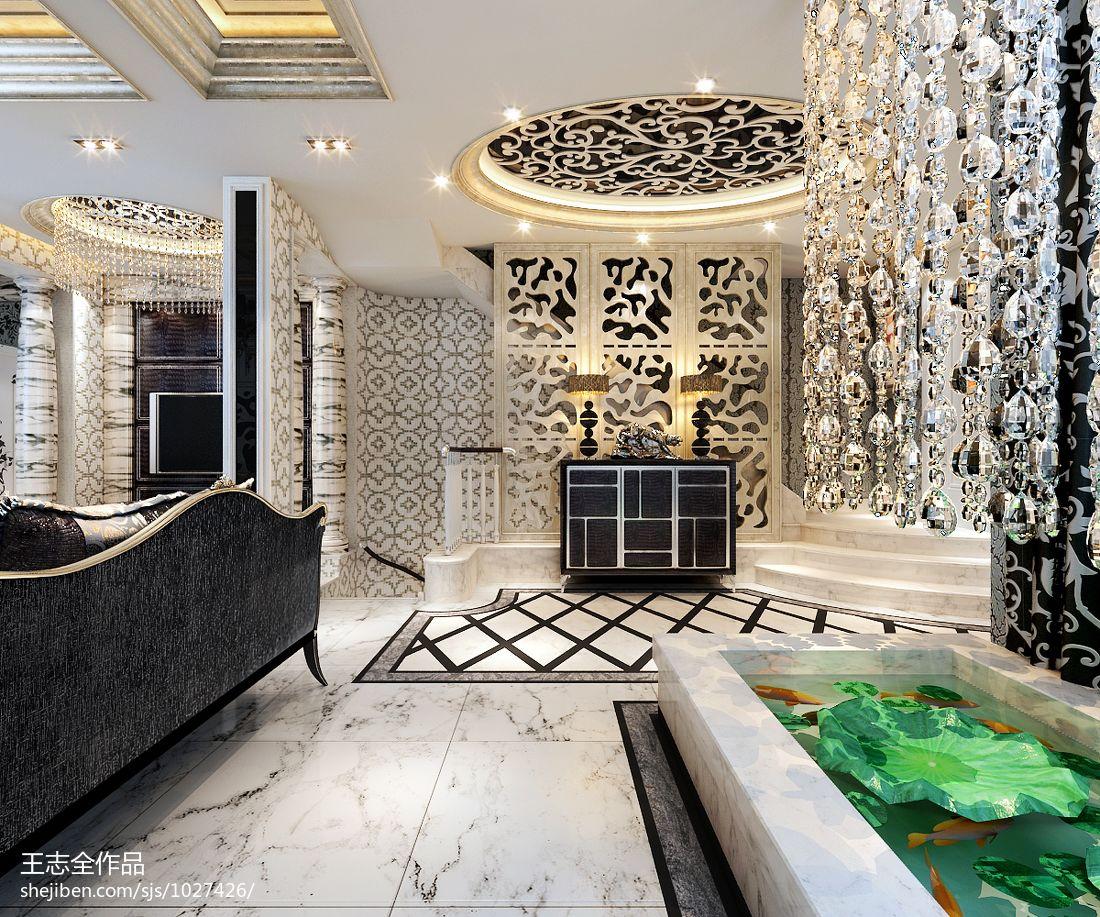 精选面积136平别墅客厅混搭实景图片大全客厅潮流混搭客厅设计图片赏析