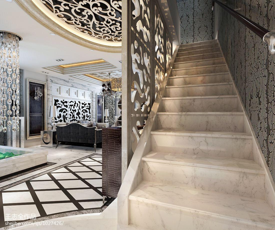 2018精选大小141平别墅客厅混搭装修欣赏图片客厅潮流混搭客厅设计图片赏析