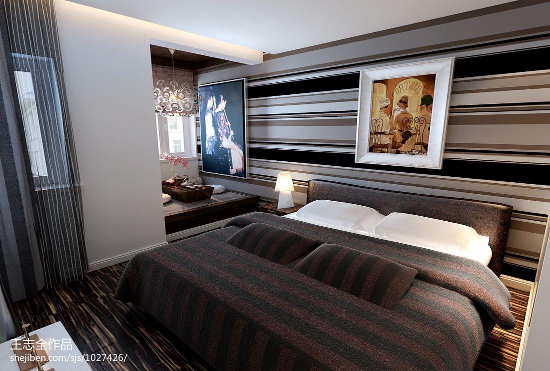 明亮733平混搭别墅卧室设计美图卧室潮流混搭卧室设计图片赏析