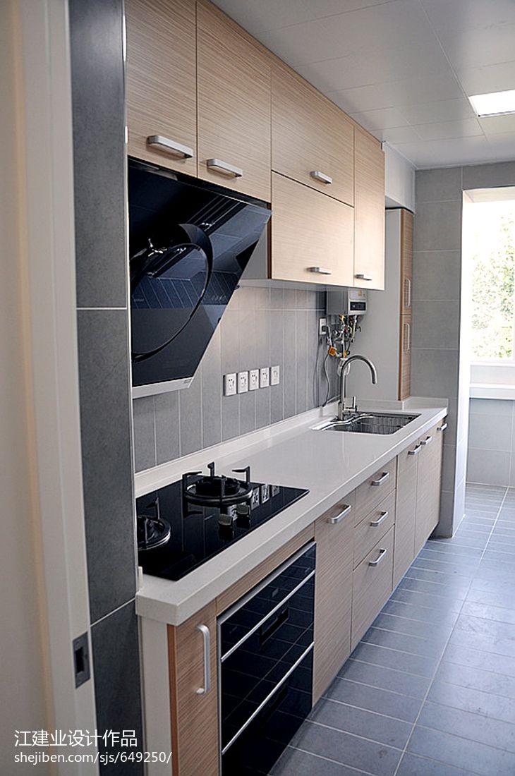 精选面积78平混搭二居厨房装修设计效果图片餐厅潮流混搭厨房设计图片赏析
