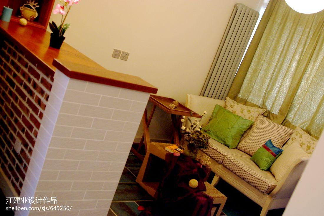 平混搭二居客厅实拍图客厅潮流混搭客厅设计图片赏析