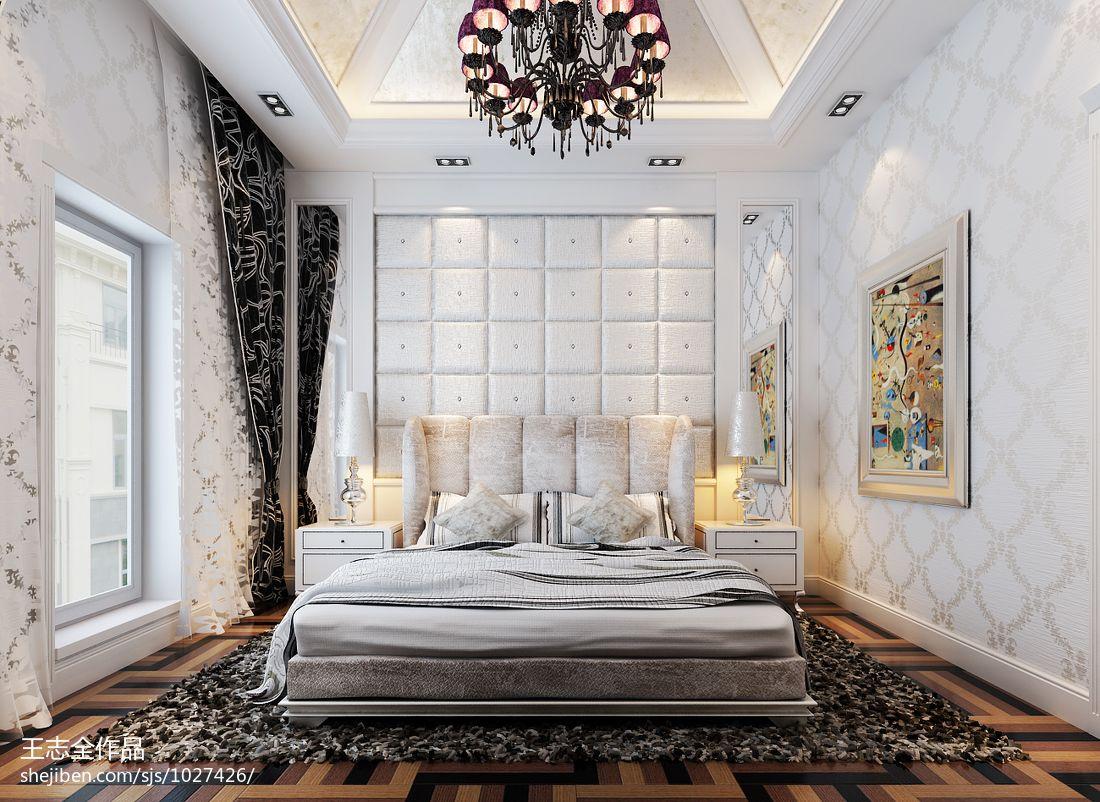 精选面积126平别墅卧室混搭欣赏图片大全卧室潮流混搭卧室设计图片赏析