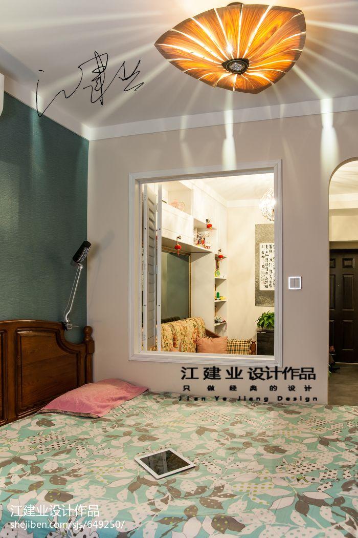 热门77平米混搭小户型卧室设计效果图卧室潮流混搭卧室设计图片赏析
