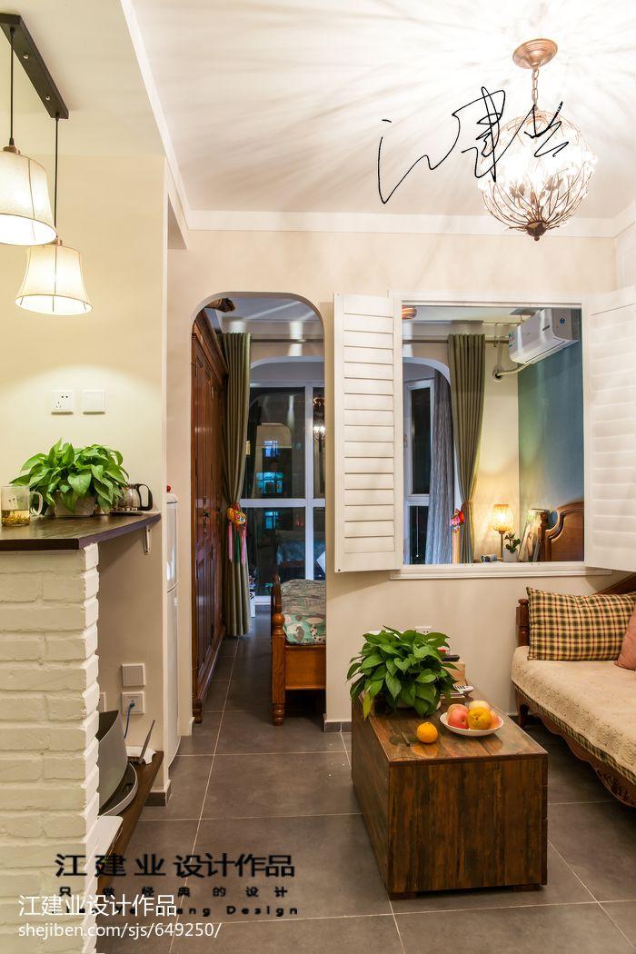 面积78平小户型客厅混搭装修图片欣赏客厅潮流混搭客厅设计图片赏析