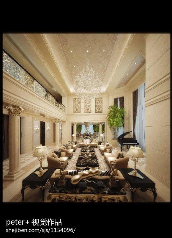 热门大小113平别墅客厅混搭装修图片大全客厅潮流混搭客厅设计图片赏析