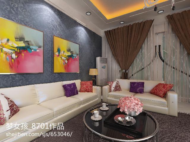 精美101平米3室客厅混搭装修效果图片客厅潮流混搭客厅设计图片赏析