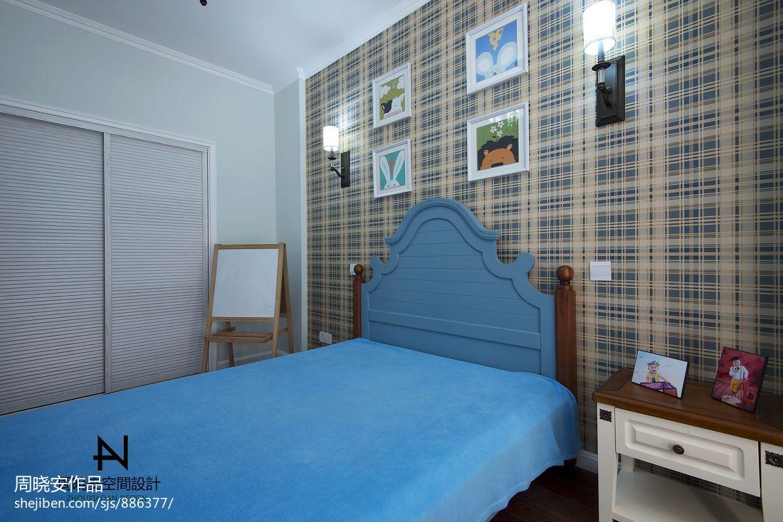 精致78平混搭三居卧室效果图欣赏卧室潮流混搭卧室设计图片赏析